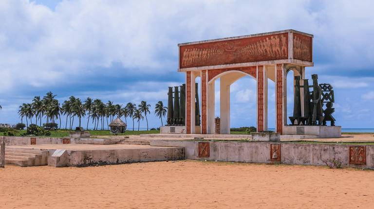 The Gate of No Return in Benin.