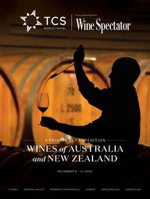 Wine Spectator Brochure Cover