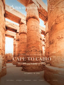 Cape to Cairo Trifold Cover
