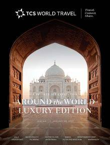 Around the World Luxury Edition Brochure Cover