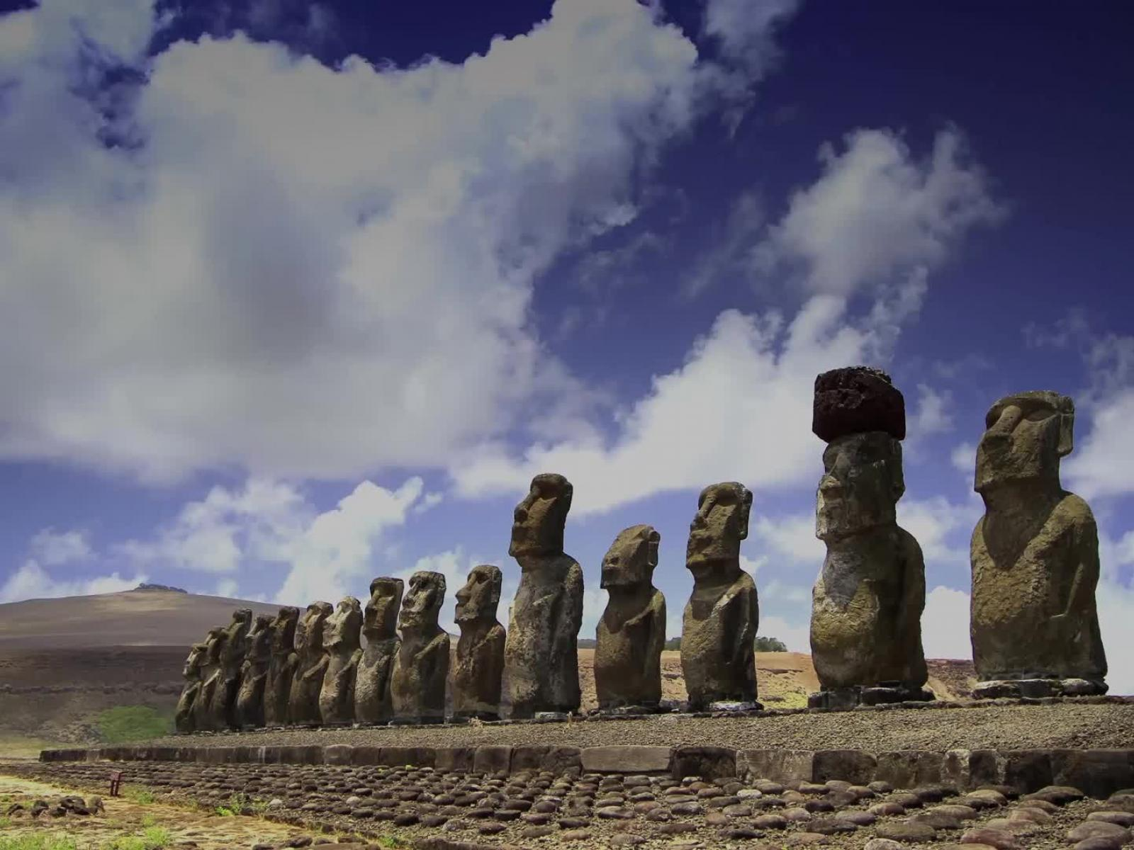 easter island-static image